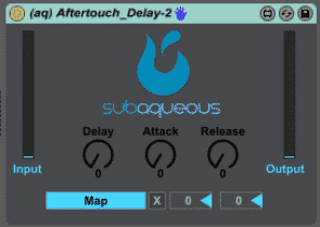 max for live Push Pack Aftertouch