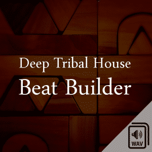 Deep Tribal House Sample Library Logo Beat